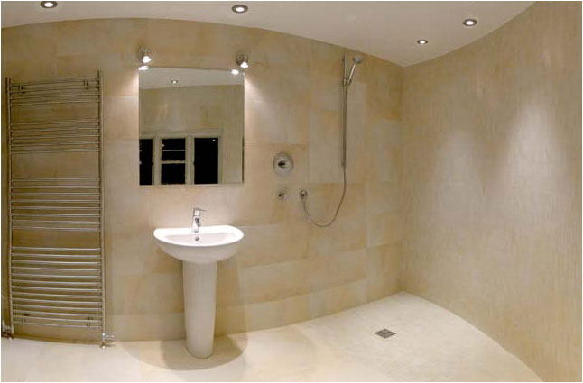 Wetroom installation in gateshead wetrooms installation in for Wet floor bathroom designs